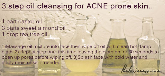 Oil for acne prevention part 2: Oil Cleansing  – TheLexieness